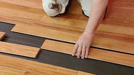 hardwood floor installation services Newquay Cornwall